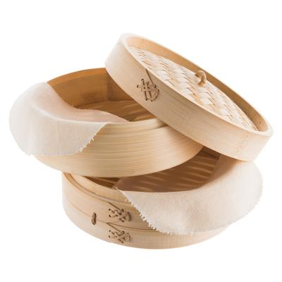 come è fatta una vaporiera in bamboo