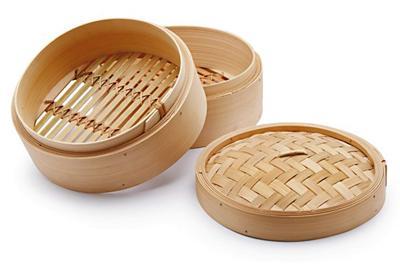 esempio di vaporiera in bamboo